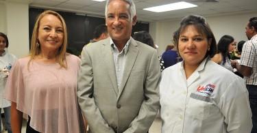 Johanna Rodriguez, Rafael Rodriguez y Johanna Pichardo