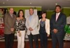 Jorge Ramos, Karina López, Luis Jos� Chávez, Fabeth Martínez y Jos� María Reyes