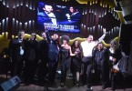 01.- Gustavo de Hostos junto con su banda Puro Jazz tras finalizar el concierto en Punta Cana