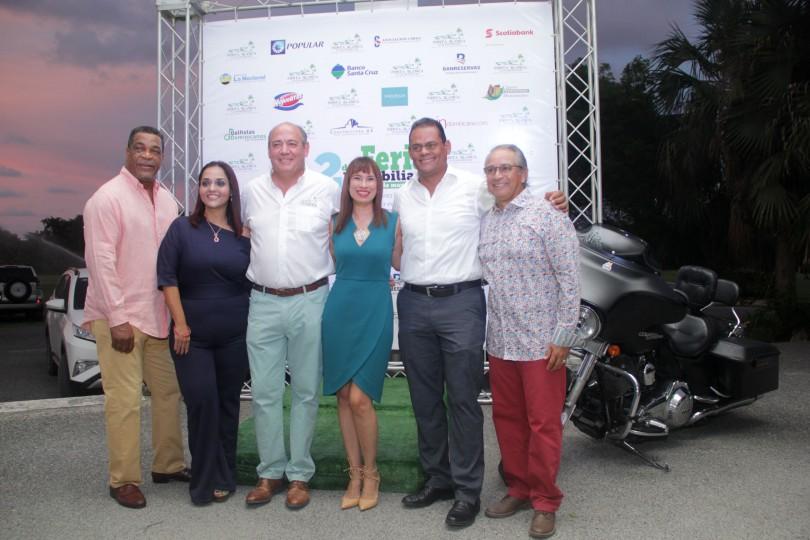01.- George Bell, Luisangela Fernández, Antonio Ramis, Alba Then, Tomás Mercedes y Félix Olivo