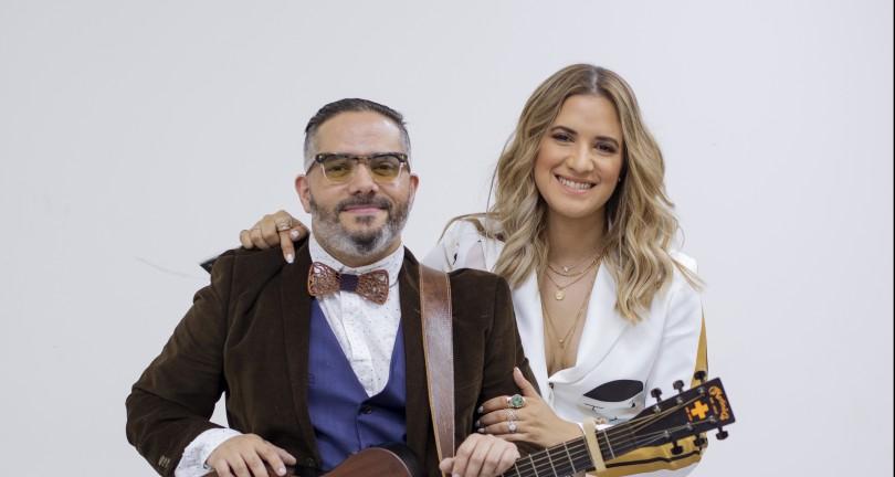 Pavel Núñez y Nathalie Hazim