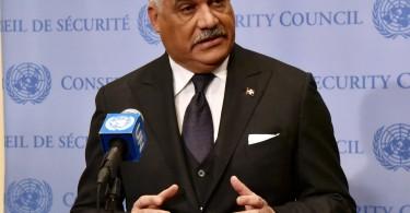 Canciller en Consejo de Seguridad