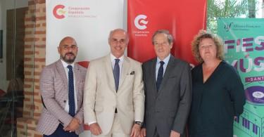PRINCIPAL. Juan Sánchez, Alejandro Abellán García de Diego, Didier Lopinot, Cristine Torelli
