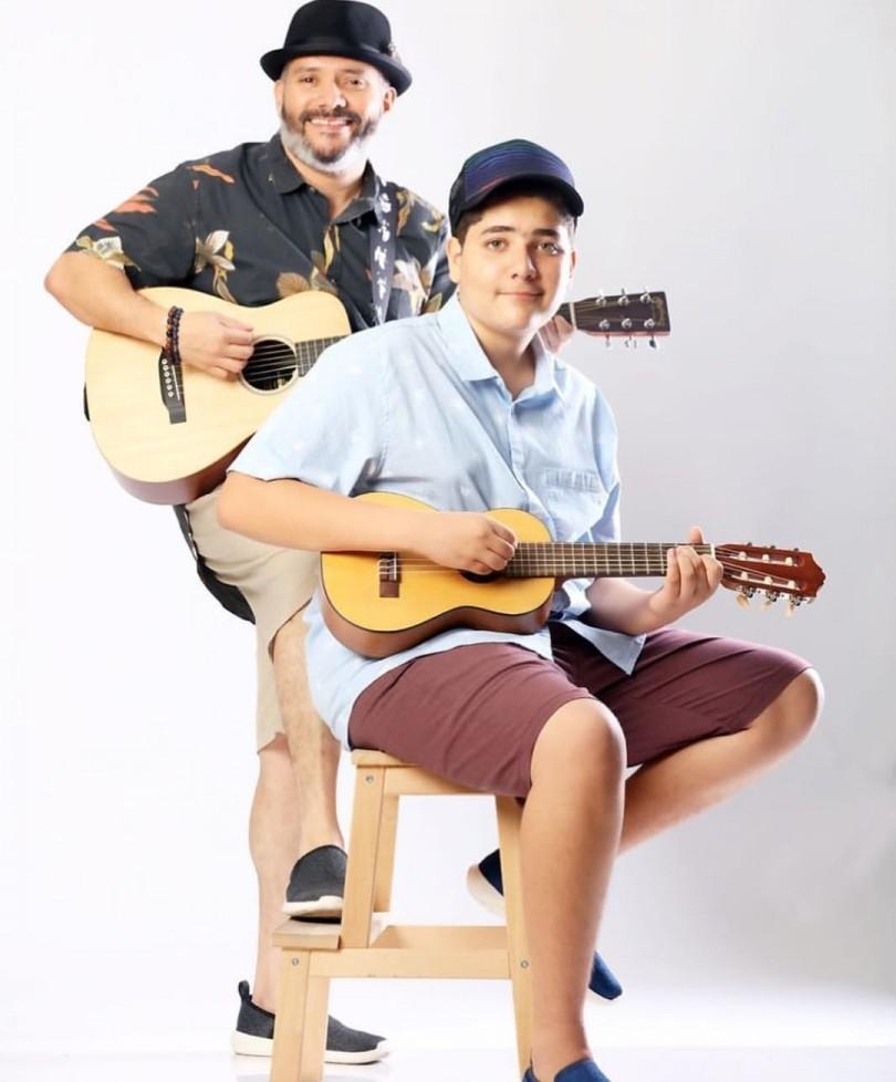 Pavel y Ariel Núñez