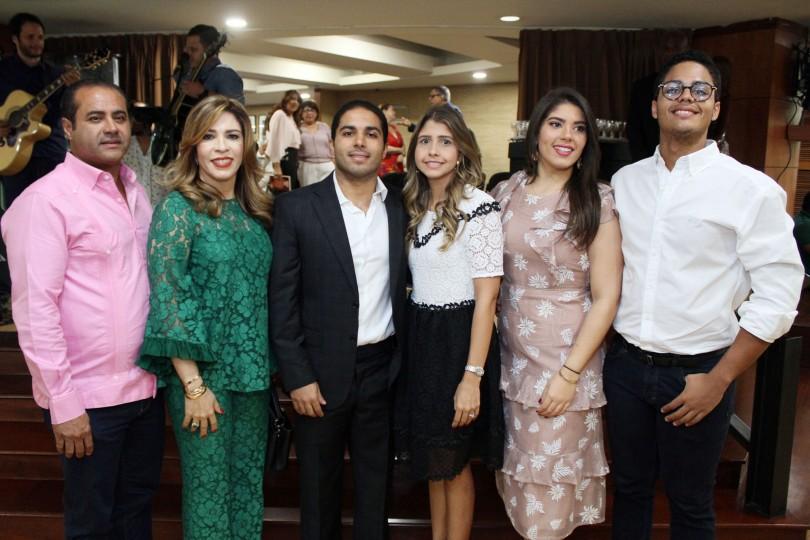 01.-Manuel Paniagua, Carmen de Paniagua, Jesus Paniagua, Maria Batlle, Carmen Paniagua, Manuel Paniagua JR