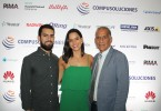 Oscar Ceballos, Laura Ceballos y Juan Miguel Ceballos