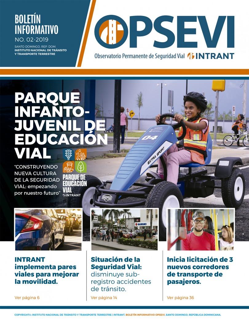Portada-Boletin Informativo,INTRANT ENERO 2020