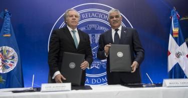 canciller y Almagro