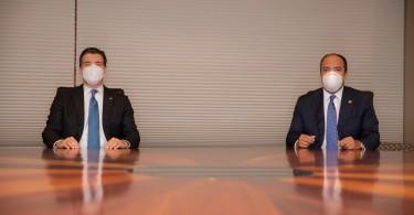 BPD_8735 De izquierda a derecha, los señores Christopher Paniagua y Samuel Pereyra Rojas.