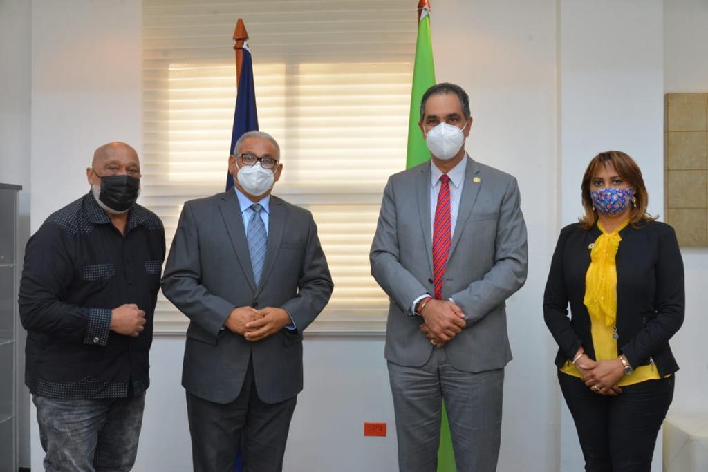 Eugenio Pérez, Alexis Beltré, doctor Hazim y Amerfi Cáceres