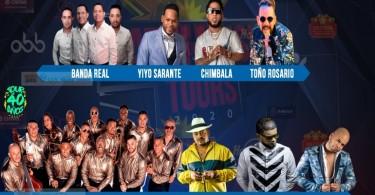 ARTISTAS LATIN MUSIC TOUR 2020