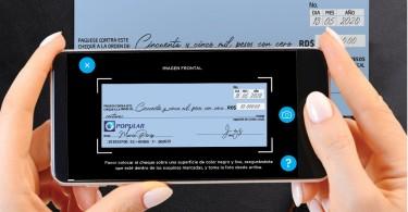 Depositar cheques desde la App Popular permite ahorrar tiempo y exposisición